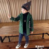 兒童帽子男童秋冬小男孩韓版潮毛線帽4-8-10歲 歐韓時代