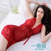 性感睡衣女秋蕾絲火辣成人大碼情趣內衣激情透視騷套裝小胸睡裙