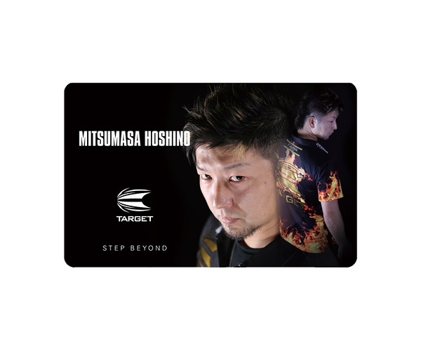 【TARGET】NEXUS Account Card 星野光正 飛鏢配件 DARTS