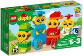 樂高LEGO DUPLO 我的第一套情緒 10861 TOYeGO 玩具e哥