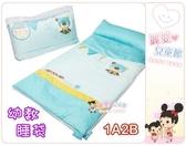 麗嬰兒童玩具館~1A2B-100%純棉款-兒童幼稚園睡袋/幼教睡袋/冬夏兩用睡袋.台灣製