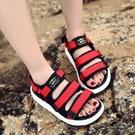 找到自己 MD歐美 時尚 潮 女 百搭 涼鞋 羅馬款 真皮涼鞋 平底涼鞋 沙灘鞋
