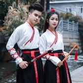 新款改良班服漢服女裝襦裙古裝中國風舞蹈服套裝學生日常表演服裝