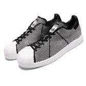 adidas 休閒鞋 Superstar Bounce PK 黑 白 基本款 回彈中底 運動鞋 男鞋【PUMP306】 S82243