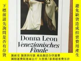 二手書博民逛書店Donna罕見Leon - Venezianisches Fin