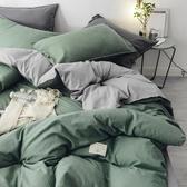雙人床包兩用被四件組日式床包組床上用品雙人床包可再裝入棉被dj