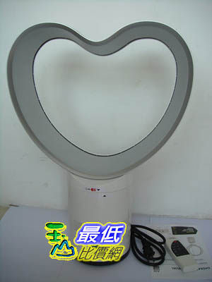 [103 美國直購 USAShop] 冷卻風扇 handyman® 12  Heart-shaped Bladeless Cooling Fan w/Remote $6423