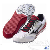 MIZUNO 美津濃 TMC SPLIT 2男女同款田徑釘鞋(白*紅) 2014新品