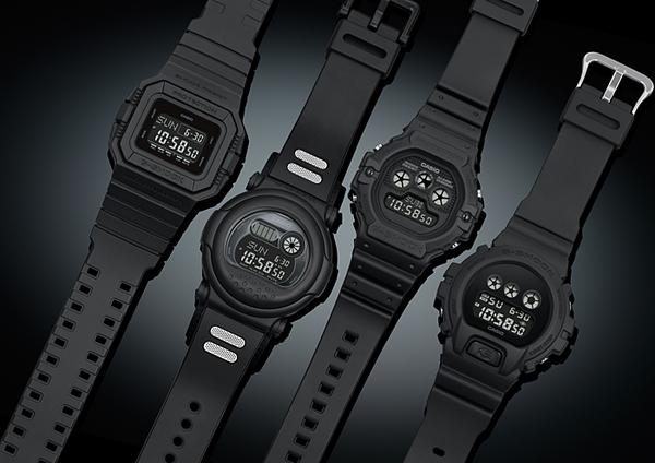 G-SHOCK 黑色獨有魅力 DW-D5500BB-1 電子錶 運動 男錶 消光黑 DW-D5500BB-1DR CASIO卡西歐