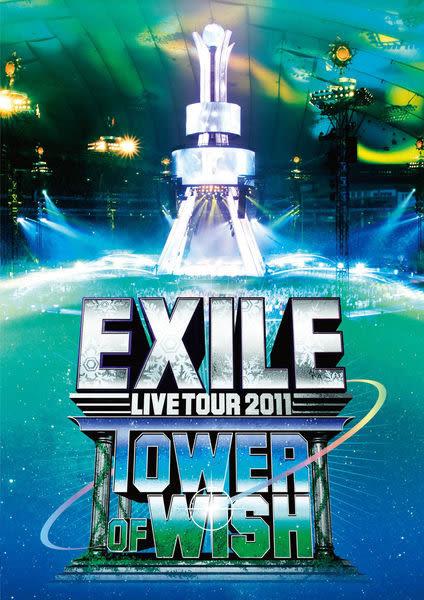 放浪兄弟 TOWER OF WISH 祈願之塔 DVD 2011巡迴演唱會 3片裝 銀河鐵道999   (購潮8)