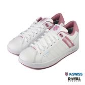 K-swiss Lundahl 白色 皮質 防水 運動休閒鞋 女款 NO.J0252【新竹皇家 96780-167】