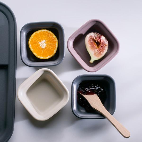 韓國nineware 簡約早午餐醬料碗4件組