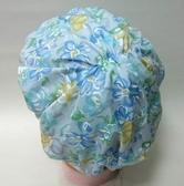 日本雙層防水浴帽 # 8630 藍   產地  日本  日本原裝進口   完全防水