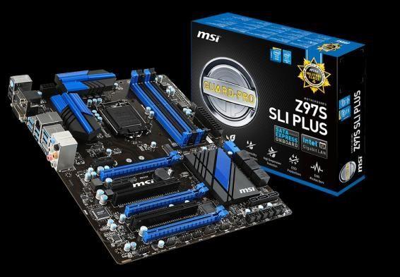 [NOVA成功3C]MSI 微星 Z97S SLI PLUS LGA1150 主機板  喔!看呢來