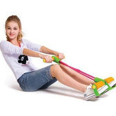 腳蹬拉力繩腹部健身器材