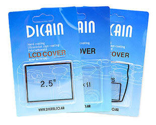 DICAIN LCD 保護蓋 / 硬式保護貼 Canon 30D 專用 (單組 出清特價)