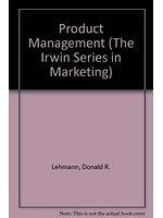 二手書博民逛書店 《Product management》 R2Y ISBN:0256116237