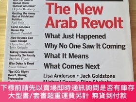 二手書博民逛書店the罕見new arab revolt foreign affairs 2011年5 6月期刊arab Spri