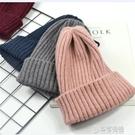 毛帽-日系羊毛帽子女秋冬季保暖毛線帽學生小清新套頭帽加厚針織冷帽 草莓妞妞