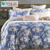 ✰特大 薄床包兩用被四件組✰ 100%純天絲《蘭之夢》