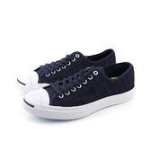 CONVERSE Jack Purcell Jack 休閒鞋 低筒 開口笑 深藍 男女鞋 UNISEX 151484C no278