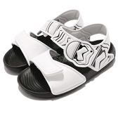 adidas 涼鞋 Star Wars AltaSwim C 白 黑 星際大戰 風暴兵 白兵 魔鬼氈 拖鞋 童鞋 小童鞋【ACS】 CQ0127