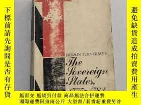 二手書博民逛書店The罕見Sovereign States1775-1783主權國家(沒勾畫)Y6318 JACKSON TU