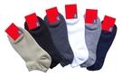 Roberta Colum 諾貝達 6雙入-嫘縈棉1/4船型襪 淺口款.男女適用R7220-2