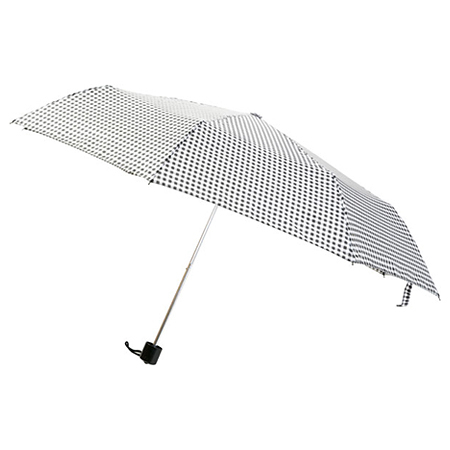 折疊傘 GINGAM 55cm NITORI宜得利家居