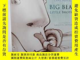 二手書博民逛書店Big罕見bear little brother.Y12498