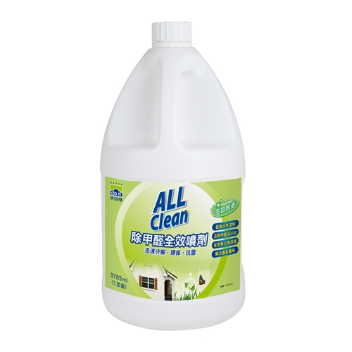 多益得All Clean水性除甲醛   1加侖補充瓶