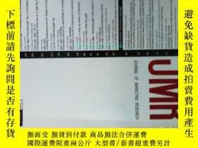 二手書博民逛書店Journal罕見of Marketing Research (
