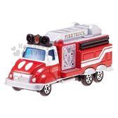 〔小禮堂〕迪士尼 米奇 TOMICA小汽車《DMA-10.紅灰》10週年紀念.公仔.模型.玩具 4904810-12920