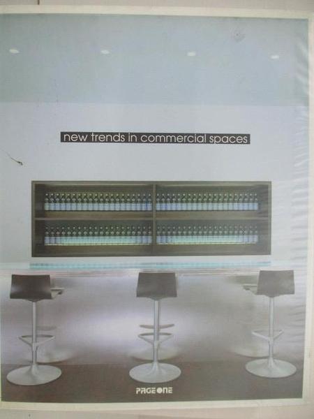 【書寶二手書T1/設計_DOE】New trends in commercial spaces