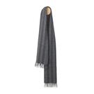 Elvang Bergen Alpaca Wool Scarves 30x160cm 100% 北歐卑爾根系列 條紋 超輕量 羊駝毛 圍巾(雅痞黑灰)