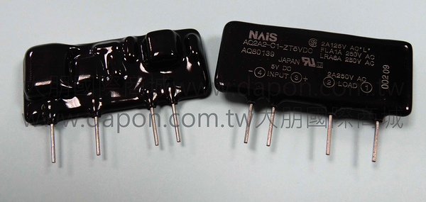 *大朋電子商城*NAIS AQ2A2-C1-ZT5VDC 繼電器Relay(1入)