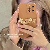 iPhone手機殼kaia自制立體卡通餅干小熊適用iphone12/13蘋果11 JUST M