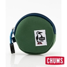 CHUMS Eco Round Coin Case 收納包 森林綠 CH600854M021【GO WILD】