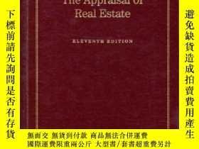 二手書博民逛書店The罕見Appraisal Of Real EstateY307751 Field Appraisal In