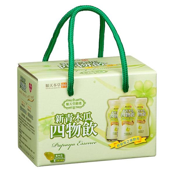 順天本草 新青木瓜四物飲(6瓶/盒)x1