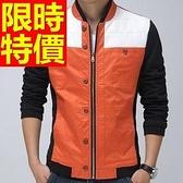 棒球夾克男外套-保暖棉質焦點熱銷明星同款美式風隨性知性2色59h65[巴黎精品]