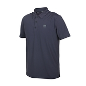 FIRESTAR 男彈性機能短袖POLO衫(運動 慢跑 路跑 上衣 涼感 高爾夫 反光≡體院≡ D1751-15