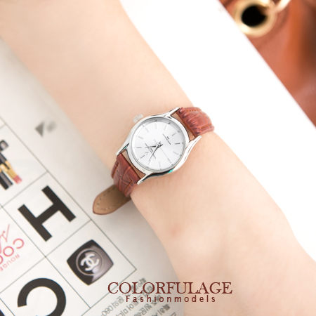 極簡超薄輕巧小款女孩腕錶 范倫鐵諾Valentin手錶【NE955】