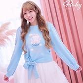 上衣 Ruby x AKB48TeamTP設計‧活力熊長袖上衣-Ruby s 露比午茶