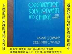 二手書博民逛書店organization罕見development and ch