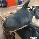 鯊魚抱枕公仔毛絨玩具網紅可愛布娃娃床上睡覺玩偶靠墊生日禮物女 ATF安妮塔小鋪