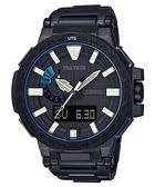 CASIO卡西歐PRO TREK 頂級錶款MANASLU系列(PRX-8000YT-1B)黑鈦