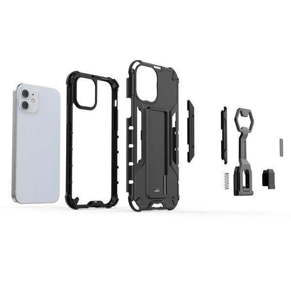 蘋果 IPhone12 Pro Max 12Pro 12Mini IPhone11機械手臂 手機殼 全包邊 支架 防摔 保護殼