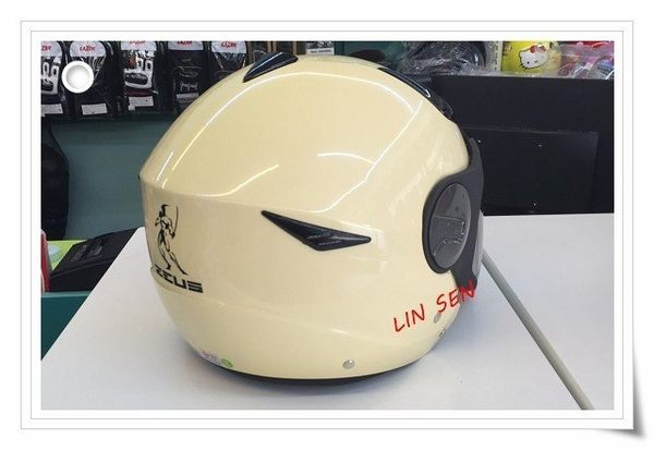 ZEUS 瑞獅安全帽,ZS-612A,限量新素色/卡奇黃