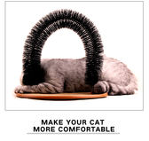 黑五購物節 貓咪蹭毛器貓用按摩刷寵物除毛刷貓蹭毛撓癢癢貓抓板寵物貓咪玩具